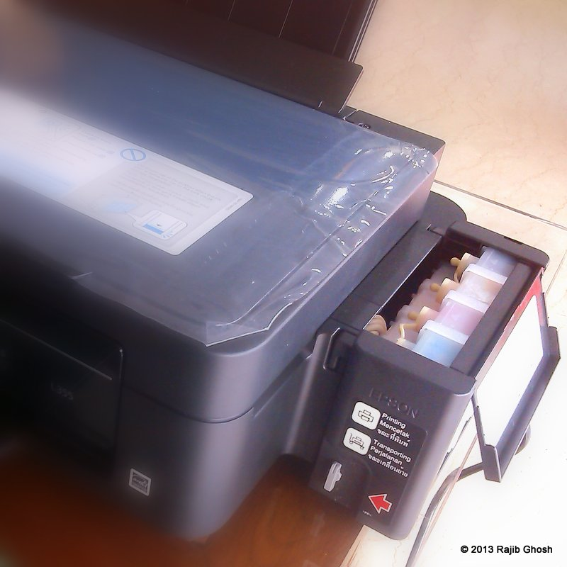 Review of Epson L355 Continuous Ink System Printer – Rajib's